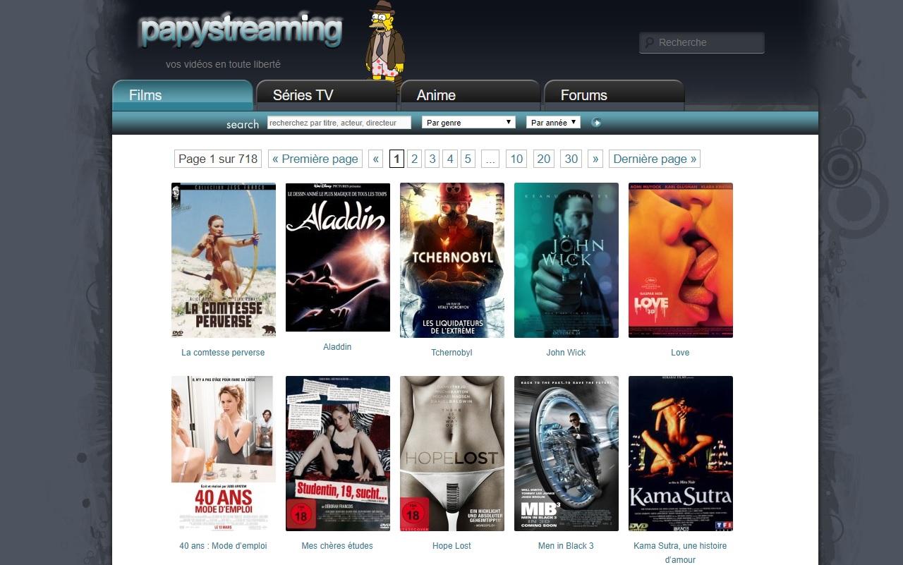 PapyStreaming indisponible ! Est-ce la fermeture definitive du site ?