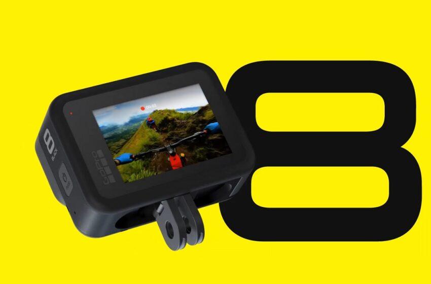GoPro lance les nouvelles caméras Hero 8 Black et MAX