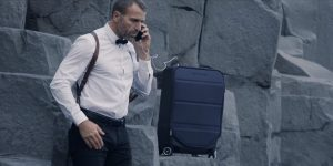 Kabuto Carry-on : valise intelligente pour les geeks