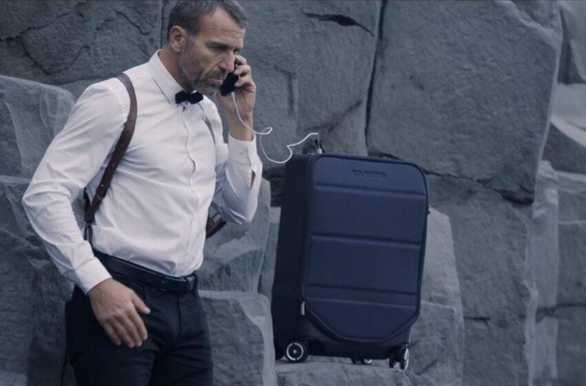 Kabuto Carry-On : la nouvelle valise intelligente à destination des geeks