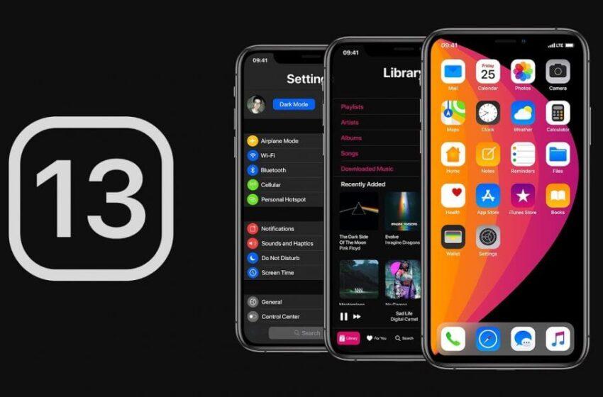 La bêta 3 de iOS 13.3 est disponible