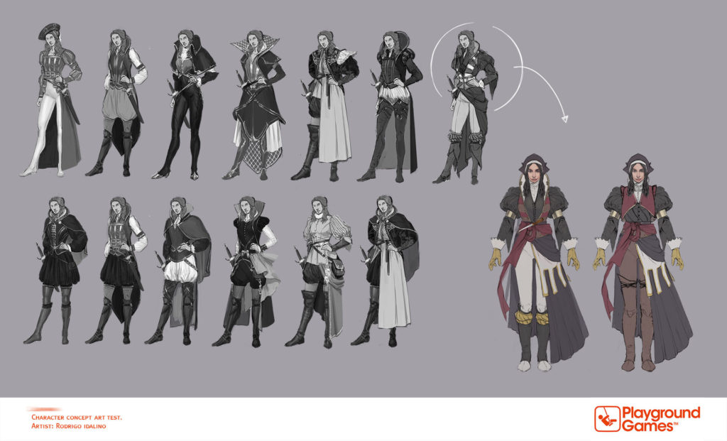 Fable 4 personnages concept