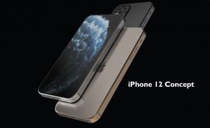 Iphone 12 design concept