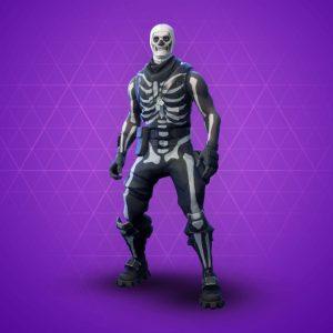 Fortnite : skin Skull Trooper