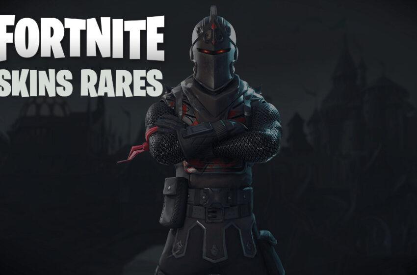 Fortnite : les 10 skins les plus rares du Battle Royale