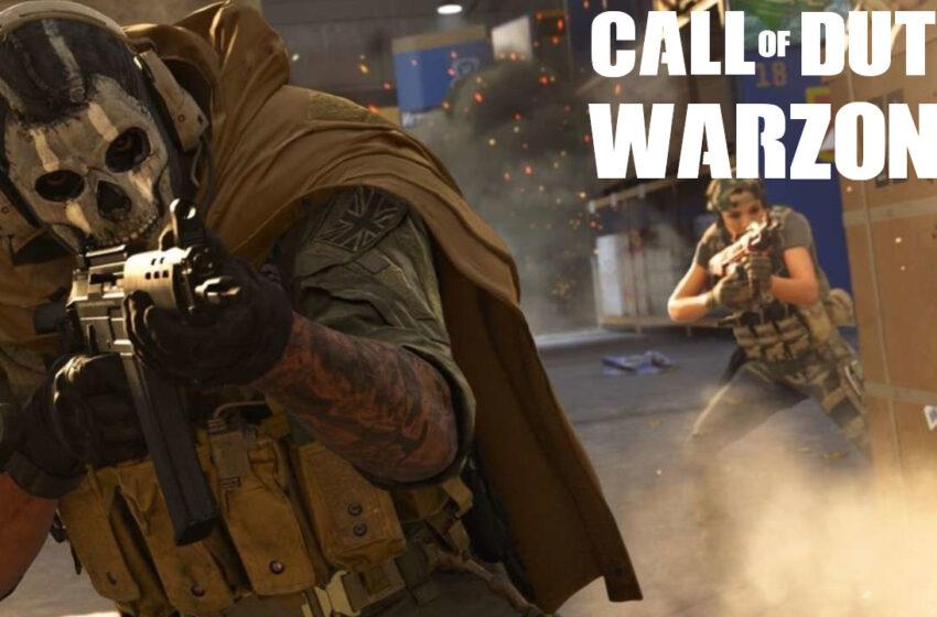 "Le Battle Royale ""Call Of Duty : Warzone"" sortirait en mars"