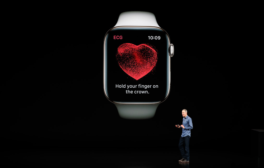 L'Apple Watch pourra contrôler le taux d'oxygène dans le sang