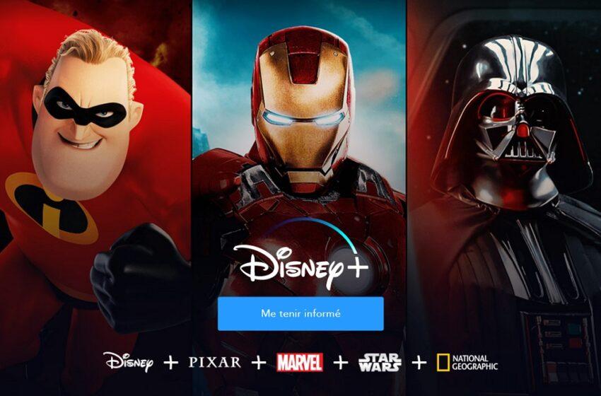 Disney+ : le lancement reporté en France au 7 avril