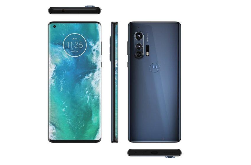 Motorola Edge Plus : les photos et la fiche technique ont fuité