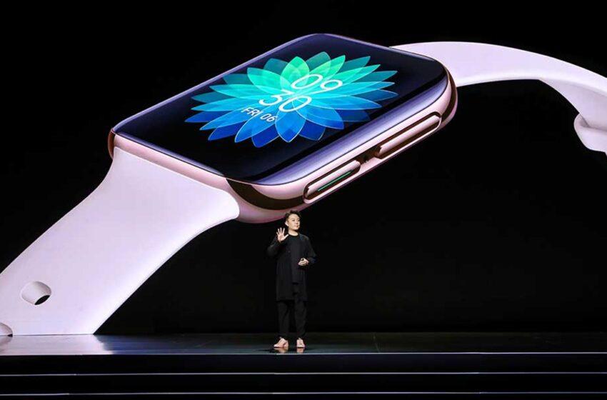 Oppo officialise Oppo Watch, un clone de l'Apple Watch
