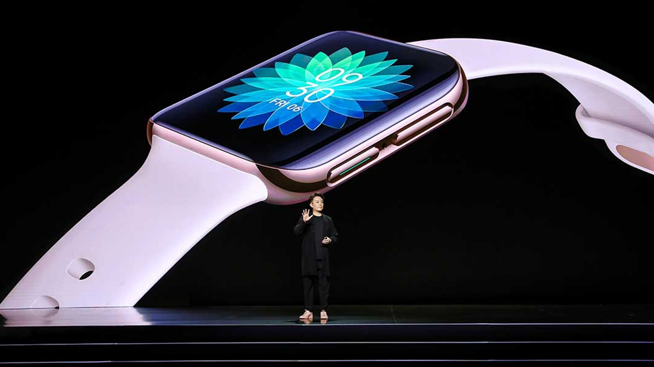 Oppo officialise Oppo Watch, un clone de l'Apple Watch