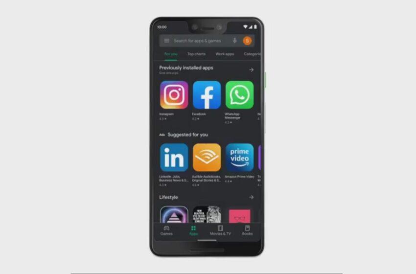 Google Play Store : le dark mode étendu sur tous les systèmes Android