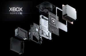 Xbox Series X composants